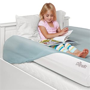 Inflatable Bed rail + Small foot pump - The shrunks